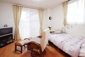 そんぽの家 東岡山(旧名称:コミュニティホーム アミーユ東岡山) 居室(同タイプの他のそんぽの家の写真)