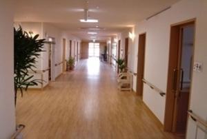 そんぽの家 倉敷(旧名称:コミュニティホーム アミーユ倉敷) 廊下
