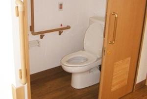 そんぽの家 南岡山(旧名称:コミュニティホーム アミーユ南岡山) 居室トイレ