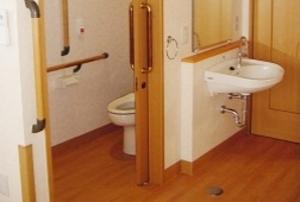 そんぽの家 西岡山(旧名称:アミーユ西岡山) 居室トイレ洗面台