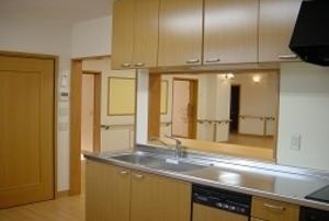 そんぽの家 西岡山(旧名称:アミーユ西岡山) キッチン