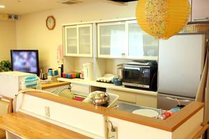 まどか南行徳 リビングルーム兼食堂兼機能訓練室