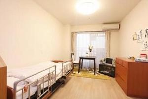 まどか名城公園 お一人おひとりに、ご自宅のようなくつろぎと併せて、快適にお暮らしいただくためのお部屋をご用意しております。
