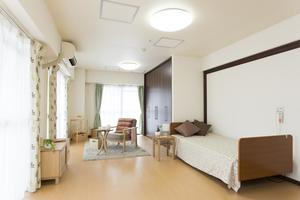 やすらぎの館 ご夫婦で利用できる広めのお部屋です。ミニキッチン付きのお部屋もございます。(B1・B2・B3タイプのみ)