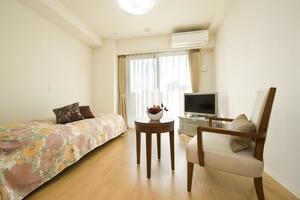 メディカルホームグランダ深江南 全室個室となっております。お好きな家具をレイアウトいただけます。