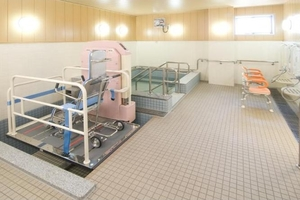 ここち野田 お一人おひとりのお身体のご状態に合わせて入浴のお手伝いをさせていただきます。