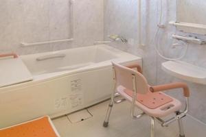 ここち野田 お一人で入浴できる個人浴室となっております。