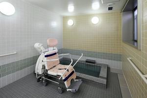 グランダ甲南山手 お身体の状態やお好みに合わせて浴室をお選びいただけます。