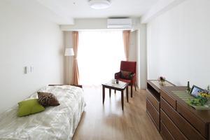 リハビリホームグランダ甲子園弐番館 全室個室で、お一人おひとりの空間として、その方らしい生活をしていただける場所です。