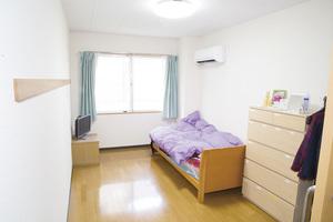 もえぎ中野白鷺 居室 ※ご入居時、基本的には家具等一切ございません