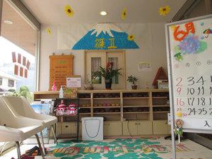 篠崎明生苑II エントランス季節ごとに装飾をかえ、四季を感じて頂いております。