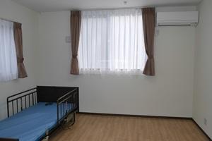 ハーベストガーデン 介護ベッドが標準装備となっております。