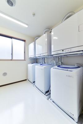 すまいゆ藤間 洗濯室(洗濯機置場)