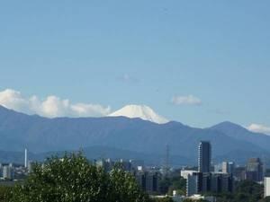 家族の家ひまわり聖蹟桜ヶ丘 施設からの富士山