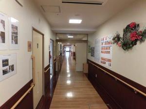 ロイヤルレジデンス大宮 廊下