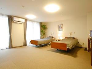チャームスイート西宮浜 お二人でご入居できるお部屋を5室ご用意しています。広さは28.71㎡~29.94㎡です。