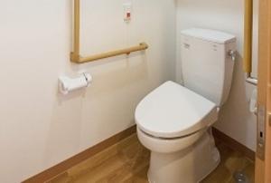 そんぽの家S 東寺(旧名称:Cアミーユ東寺) 居室トイレ(同タイプの他のそんぽの家S)