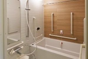 そんぽの家S 東寺(旧名称:Cアミーユ東寺) 居室浴室(同タイプの他のそんぽの家S)