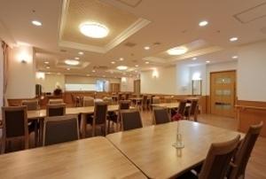 そんぽの家S 東寺(旧名称:Cアミーユ東寺) 食堂(同タイプの他のそんぽの家S)