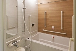 そんぽの家S 西糀谷(旧名称:Cアミーユ西糀谷) 居室浴室(同タイプの他のそんぽの家S)